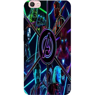 Snooky Printed 949,Avengers Hero Mobile Back Cover of Vivo V5 - Multi