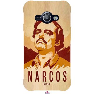 Snooky Printed 1063,Narcos Mobile Back Cover of Samsung Galaxy Ace J1 - Multi