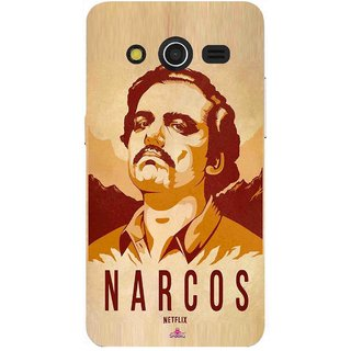 Snooky Printed 1063,Narcos Mobile Back Cover of Samsung Galaxy Core 2 - Multi