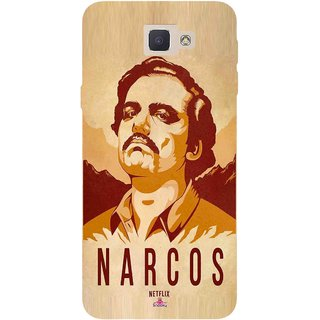 Snooky Printed 1063,Narcos Mobile Back Cover of Samsung Galaxy J5 Prime - Multi