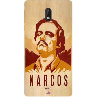 Snooky Printed 1063,Narcos Mobile Back Cover of Nokia 3 - Multi