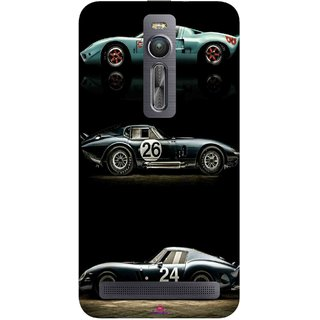 Snooky Printed 963,blair bunting car Mobile Back Cover of Asus Zenfone 2 - Multi