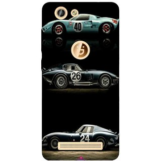 Snooky Printed 963,blair bunting car Mobile Back Cover of Gionee F103 Pro - Multi