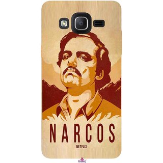 Snooky Printed 1063,Narcos Mobile Back Cover of Samsung Galaxy On7 - Multi