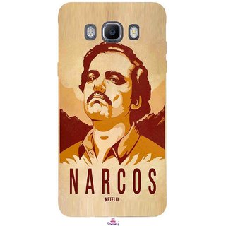 Snooky Printed 1063,Narcos Mobile Back Cover of Samsung Galaxy On8 - Multi