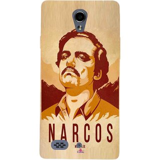 Snooky Printed 1063,Narcos Mobile Back Cover of Oppo Joy 3 - Multi