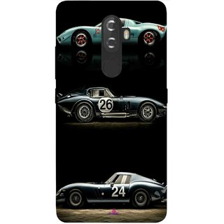 Snooky Printed 963,blair bunting car Mobile Back Cover of Lnv K8 Plus - Multi