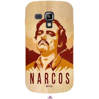 Snooky Printed 1063,Narcos Mobile Back Cover of Samsung Galaxy S Duos S7562 - Multi