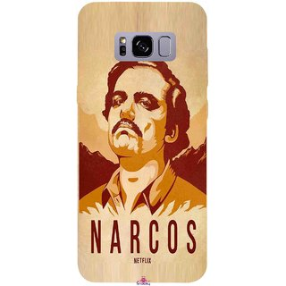 Snooky Printed 1063,Narcos Mobile Back Cover of Samsung Galaxy S8 Plus - Multi