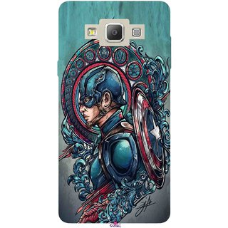Snooky Printed 973,Captain Ameria Avenger Mobile Back Cover of Samsung Galaxy A5 - Multi
