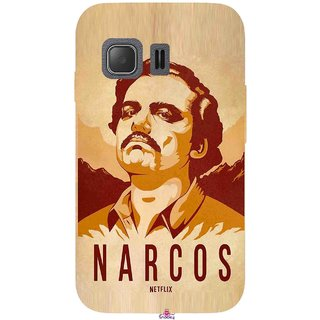 Snooky Printed 1063,Narcos Mobile Back Cover of Samsung Galaxy Young 2 - Multi