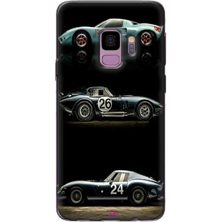 Snooky Printed 963,blair bunting car Mobile Back Cover of Samsung Galaxy S9 Plus - Multi