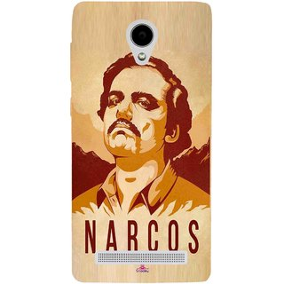 Snooky Printed 1063,Narcos Mobile Back Cover of Vivo Y28 - Multi