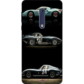 Snooky Printed 963,blair bunting car Mobile Back Cover of Nokia 5 - Multi