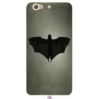 Snooky Printed 951,Bat Mobile Back Cover of Gionee Elife S6 - Multi