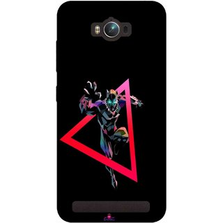 Snooky Printed 1064,Neon Human Avenger Mobile Back Cover of Asus Zenfone Max - Multi