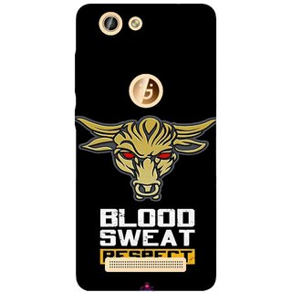 Snooky Printed 964,Blood Sweat Respect Mobile Back Cover of Gionee F103 Pro - Multi