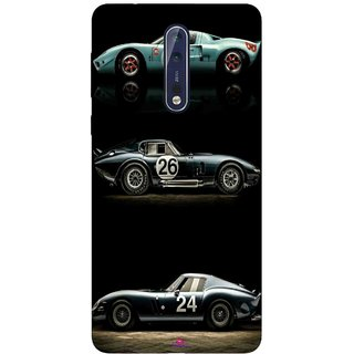 Snooky Printed 963,blair bunting car Mobile Back Cover of Nokia 9 - Multi