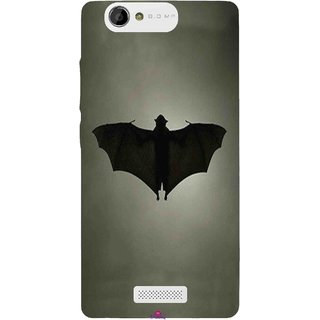 Snooky Printed 951,Bat Mobile Back Cover of Gionee M2 - Multi