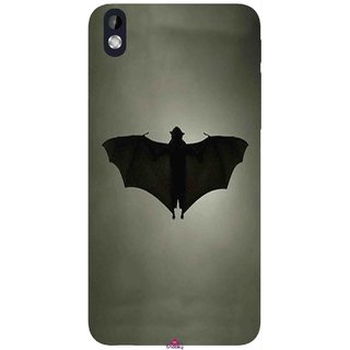 Snooky Printed 951,Bat Mobile Back Cover of HTC Desire 816 - Multi