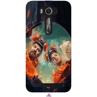 Snooky Printed 969,breaking bad season 4 Mobile Back Cover of Asus Zenfone 2 Laser ZE550KL - Multi