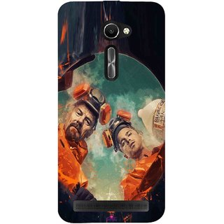 Snooky Printed 969,breaking bad season 4 Mobile Back Cover of Asus Zenfone 2 ZE500CL 5.0 - Multi