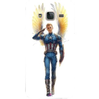Snooky Printed 976,Captain America wing Mobile Back Cover of Samsung Galaxy J3 Pro - Multi