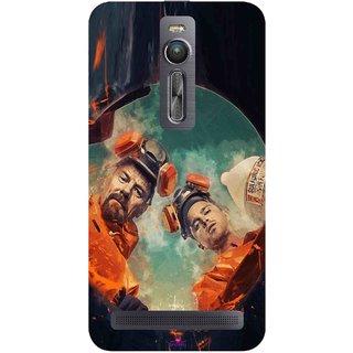 Snooky Printed 969,breaking bad season 4 Mobile Back Cover of Asus Zenfone 2 - Multi
