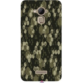 Snooky Printed 972,Camouflage Camo patterns Mobile Back Cover of Coolpad Note 3 Plus - Multi