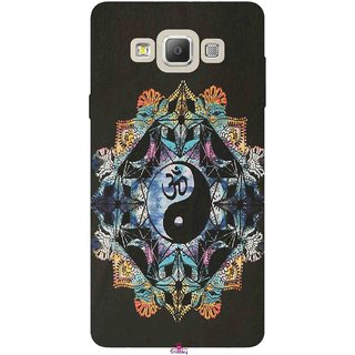 Snooky Printed 1068,Om Lord religious Mobile Back Cover of Samsung Galaxy A7 - Multi