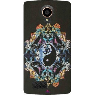 Snooky Printed 1068,Om Lord religious Mobile Back Cover of LYF Flame 7 - Multi