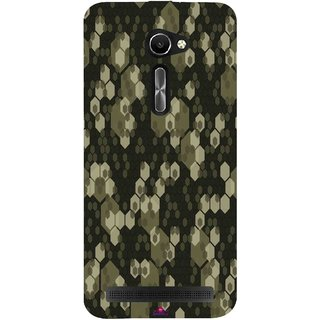 Snooky Printed 972,Camouflage Camo patterns Mobile Back Cover of Asus Zenfone 2 Laser ZE500CL - Multi