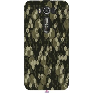Snooky Printed 972,Camouflage Camo patterns Mobile Back Cover of Asus Zenfone 2 Laser ZE500KL - Multi