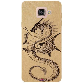Snooky Printed 978,Chinies Dragon Mobile Back Cover of Samsung Galaxy A7 2016 - Multi