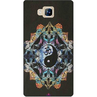 Snooky Printed 1068,Om Lord religious Mobile Back Cover of LYF Wind 2 - Multi