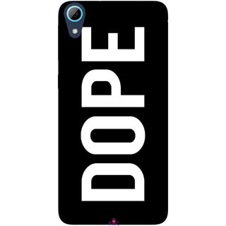 Snooky Printed 956,Black Dope Mobile Back Cover of HTC Desire 826 - Multi