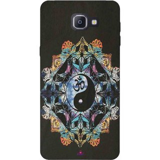 Snooky Printed 1068,Om Lord religious Mobile Back Cover of Samsung Galaxy A9 Pro - Multi
