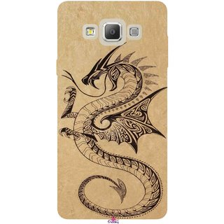 Snooky Printed 978,Chinies Dragon Mobile Back Cover of Samsung Galaxy A7 - Multi