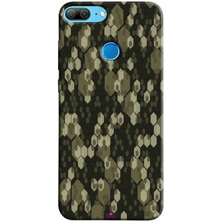 Snooky Printed 972,Camouflage Camo patterns Mobile Back Cover of Huawei Honor 9 Lite - Multi