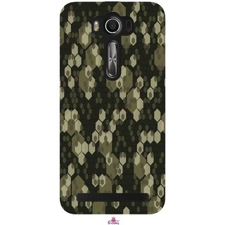 Snooky Printed 972,Camouflage Camo patterns Mobile Back Cover of Asus Zenfone 2 Laser ZE550KL - Multi