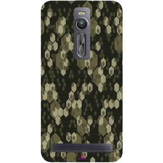 Snooky Printed 972,Camouflage Camo patterns Mobile Back Cover of Asus Zenfone 2 - Multi