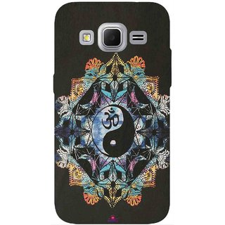 Snooky Printed 1068,Om Lord religious Mobile Back Cover of Samsung Galaxy Core Prime - Multi