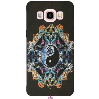 Snooky Printed 1068,Om Lord religious Mobile Back Cover of Samsung Galaxy J5 (2016) - Multi