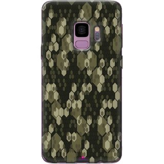 Snooky Printed 972,Camouflage Camo patterns Mobile Back Cover of Samsung Galaxy S9 Plus - Multi