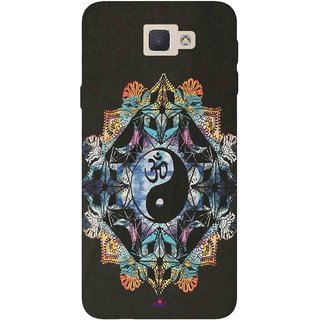 Snooky Printed 1068,Om Lord religious Mobile Back Cover of Samsung Galaxy J5 Prime - Multi
