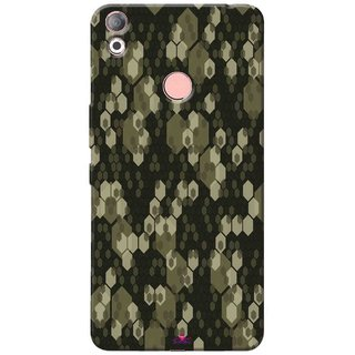 Snooky Printed 972,Camouflage Camo patterns Mobile Back Cover of Tecno Camon 1 Air - Multi