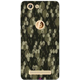 Snooky Printed 972,Camouflage Camo patterns Mobile Back Cover of Gionee F103 Pro - Multi