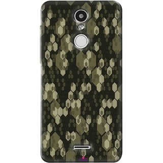 Snooky Printed 972,Camouflage Camo patterns Mobile Back Cover of Swipe Elite Plus - Multi