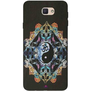 Snooky Printed 1068,Om Lord religious Mobile Back Cover of Samsung Galaxy J7 Prime - Multi