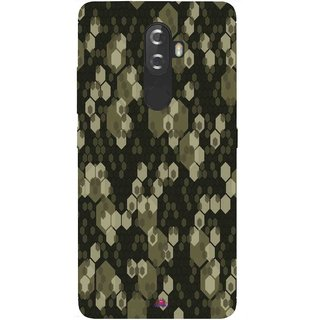 Snooky Printed 972,Camouflage Camo patterns Mobile Back Cover of Lenovo K8 - Multi